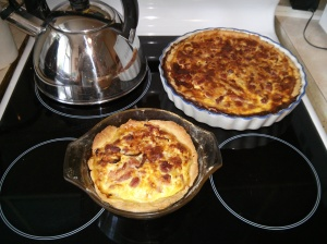 Two quiches