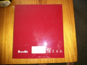 Electronic cooking scales