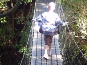 Duncan on the Bridge