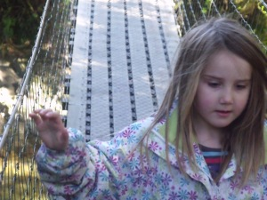 Louise at the Bridge