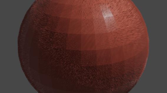 A Hairy Ball