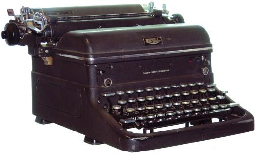 Mechanical typewriter